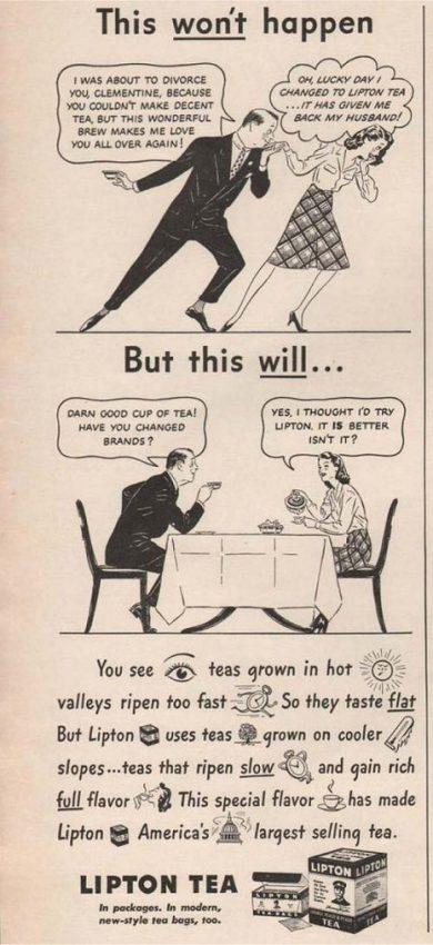20 anuncios vintage que llevan el machismo al extremo