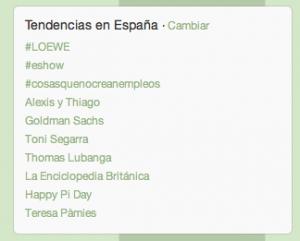 Publicitarios que se convierten en trending topic: hoy, Toni Segarra (S,C,P,F...)