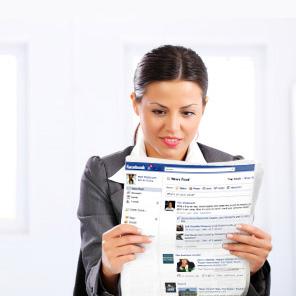 Convierte Facebook en un periódico personalizado con el nuevo 'Newsfeed'