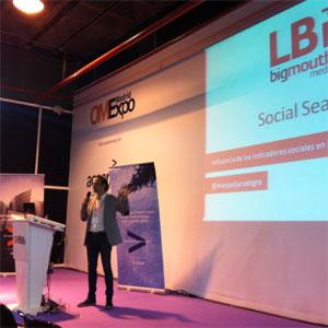 M. Jurado (LBi/bigmouthmedia) en #OMExpo: