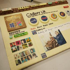La página de Cadbury en Google+ se puede comer y ¡sabe a chocolate!