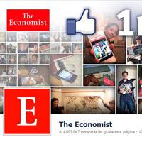 'The Economist' pasa la marca del millón de fans en Facebook y estrena Timeline