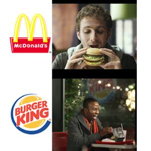 McDonald's vs. Burger King: la euforia por la comida rápida