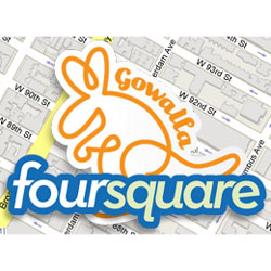 Foursquare sopla tres velas borrando del mapa a su principal rival: Gowalla