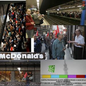 #29M: La huelga general apaga Telemadrid y Canal Sur, Mercamadrid vive una batalla campal y CCOO publicará una lista de