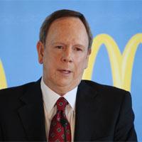 Jim Skinner, CEO de McDonald's, dice adiós al gigante de la comida rápida