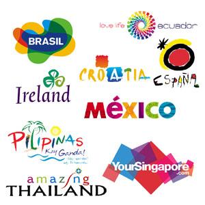 55 logos de pa237ses cuando el branding se casa con el