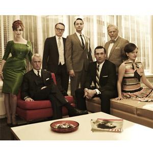 'Mad Men' bate récord de audiencia en el estreno de su 5ª temporada
