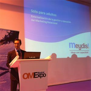 J. Marqueta (Meydis!) en #OMExpo: Consejos de marketing para adultos