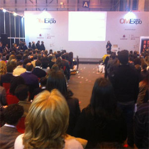 Más de 6.000 profesionales visitan OMExpo Madrid 2012 durante su primera jornada