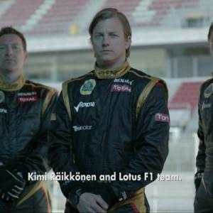 Rexona hace equipo con Kimi Räikkonnen para la Fórmula 1