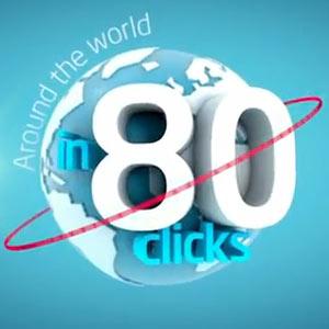 Samsonite invita a sus fans a dar la vuelta al mundo en 80 clics a través de Facebook