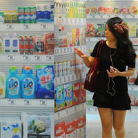 Los supermercados se trasladan al metro de la mano de los códigos QR
