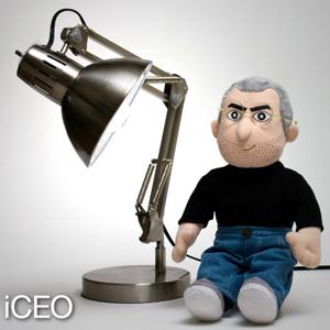 iCEO: el nuevo peluche de Steve Jobs cuesta 60 dólares