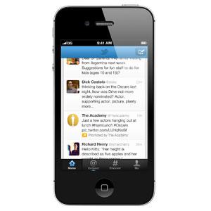 Los tweets promocionados desembarcan en los móviles