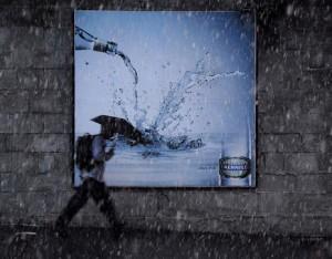 En abril, aguas mil: 30 anuncios muy lluviosos