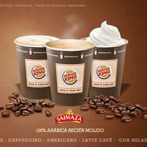 Burger King se alía con Saimaza para entrar en el negocio del café
