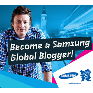Samsung busca blogueros de todo el mundo para comentar los JJOO de Londres