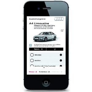 Audi lanza una aplicación móvil para crear coches a la carta