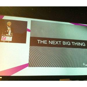 El futuro de la televisión está fuera del televisor, según S. Amin (Pepsico) en #FOMG12