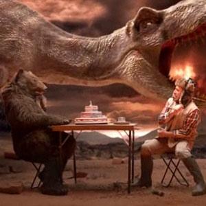 El cazador y el oso de Tipp-ex regresan para viajar en el tiempo