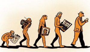 Evolución de la comunicación a través de los siglos