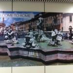 Marketing y publicidad en las calles de Roma