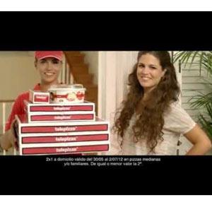 Familia y amigos en la última campaña de Telepizza para la Eurocopa