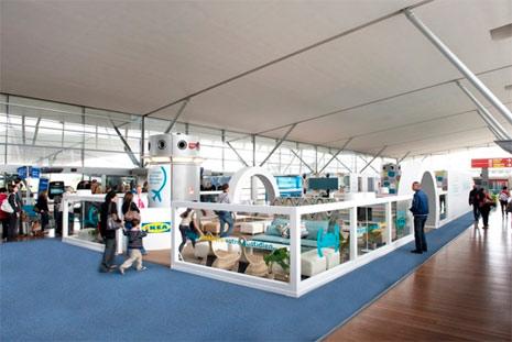 IKEA instala en el aeropuerto Charles de Gaulle una sala de descanso con camas para aliviar el estrés de los viajeros