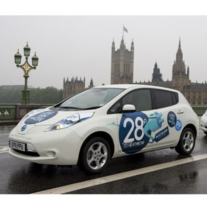 Nissan ofrece viajes en taxi gratis a través de Twitter