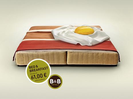 """Camas """"comestibles"""" en la última campaña de Publicis para B&B Hoteles"""