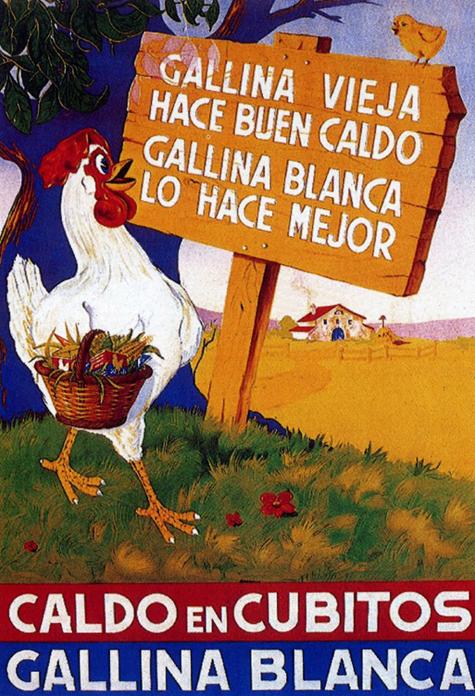 Resultado de imagen de cubitos avecrem gallina blanca