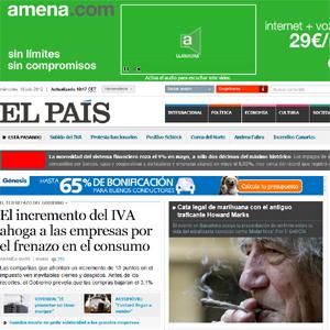 Rosalía Lloret (Prisa) dice que la publicidad representará el 20% de los ingresos de 'El País' a finales de 2012