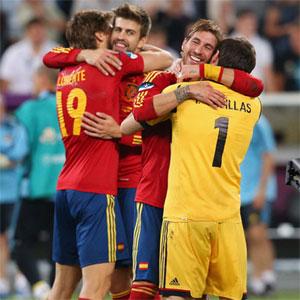 Casillas, Ramos y Piqué, los amos del balón en las redes sociales