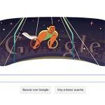 Google se rinde a los Juegos Olímpicos  de Londres con sus doodles
