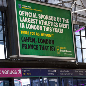 Los anunciantes no olímpicos llevan al límite las normas del marketing de patrocinio deportivo