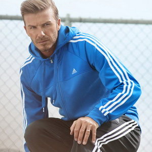 Adidas elige a David Beckham para promocionar la marca de forma divertida en Londres 2012