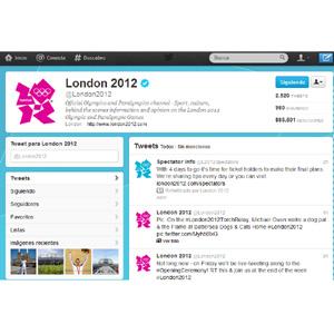 Las Olimpiadas de #London2012, a ritmo de tweet