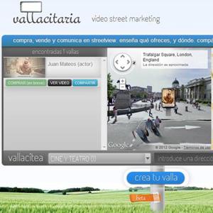 La publicidad exterior llega a Street View de la mano de Vallacitaria