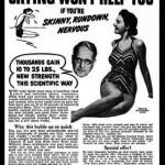 """Antes las preferían """"rellenitas"""": cuando la publicidad llamaba la atención de las mujeres para que ganaran peso"""