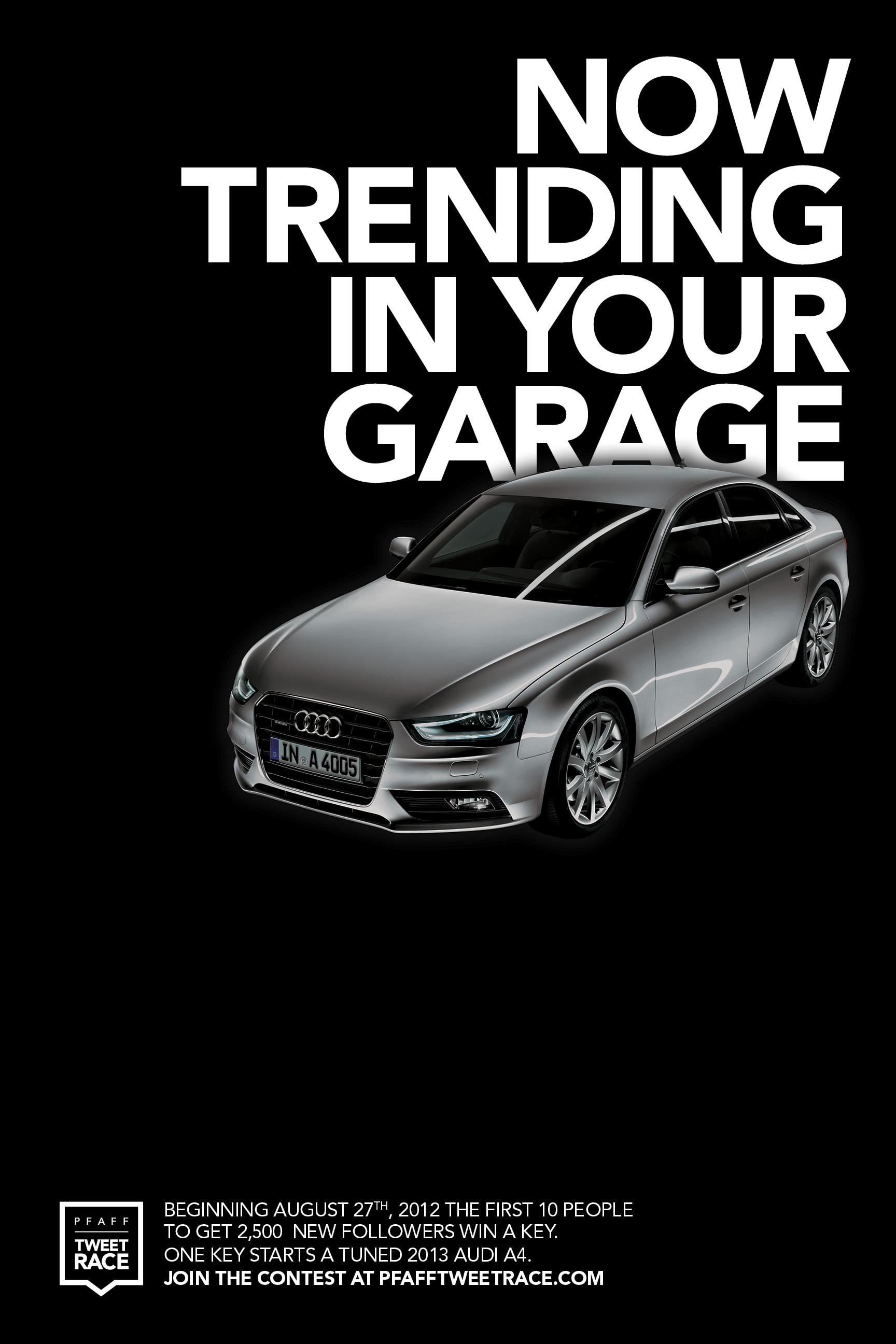 Un Audi A4, a 2.500 seguidores de Twitter de distancia