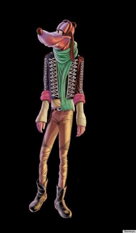 Los personajes de Disney lucen glamourosos… y esqueléticos en la nueva campaña de la firma Barneys NY