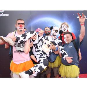 Vodafone inmortalizó el Festival BBK a golpe de gifs