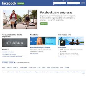 Facebook rediseña su página para pymes