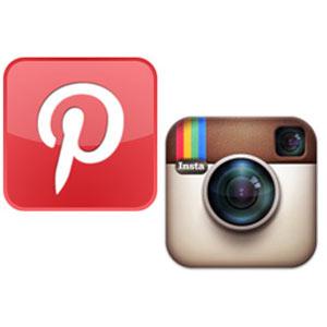"""Instagram y Pinterest """"triunfan"""" entre las redes sociales"""