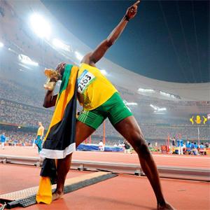 """El juego para móvil de Usain Bolt también """"vuela"""""""