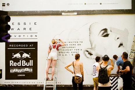 Si quiere ver la valla publicitaria, pinte y coloree