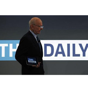 'The Daily', el periódico para iPad de Rupert Murdoch, despide a un tercio de sus empleados