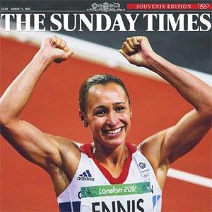 Los periódicos británicos despiertan del letargo gracias a los Juegos Olímpicos de Londres 2012