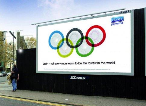 Durex nos recuerda que no todos los hombres quieren ser siempre tan rápidos como Usain Bolt...
